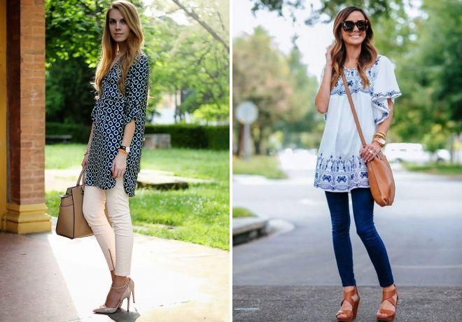 what to wear women's dress tunic