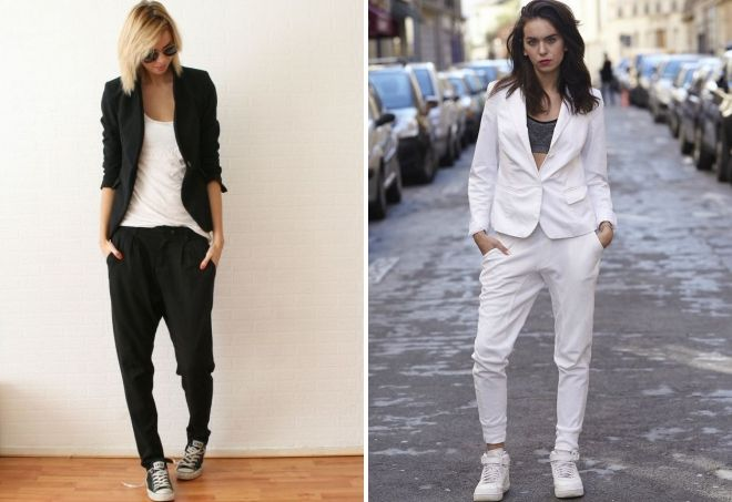 what to wear jogger pants