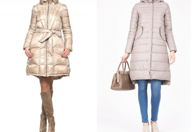 what to wear down jacket to the knee