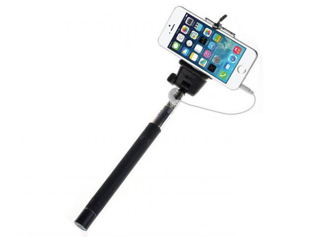 Paano magtrabaho sa selfie stick sa wire.