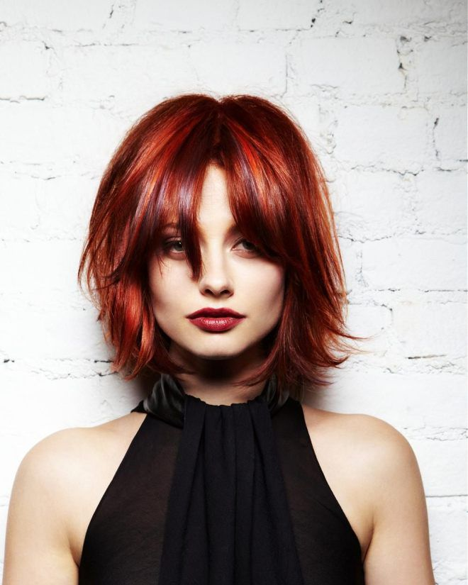 Haircuts for thin thick hair two