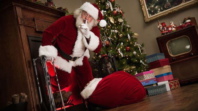 Bagaimana Santa Claus akan menyebarkan hadiah