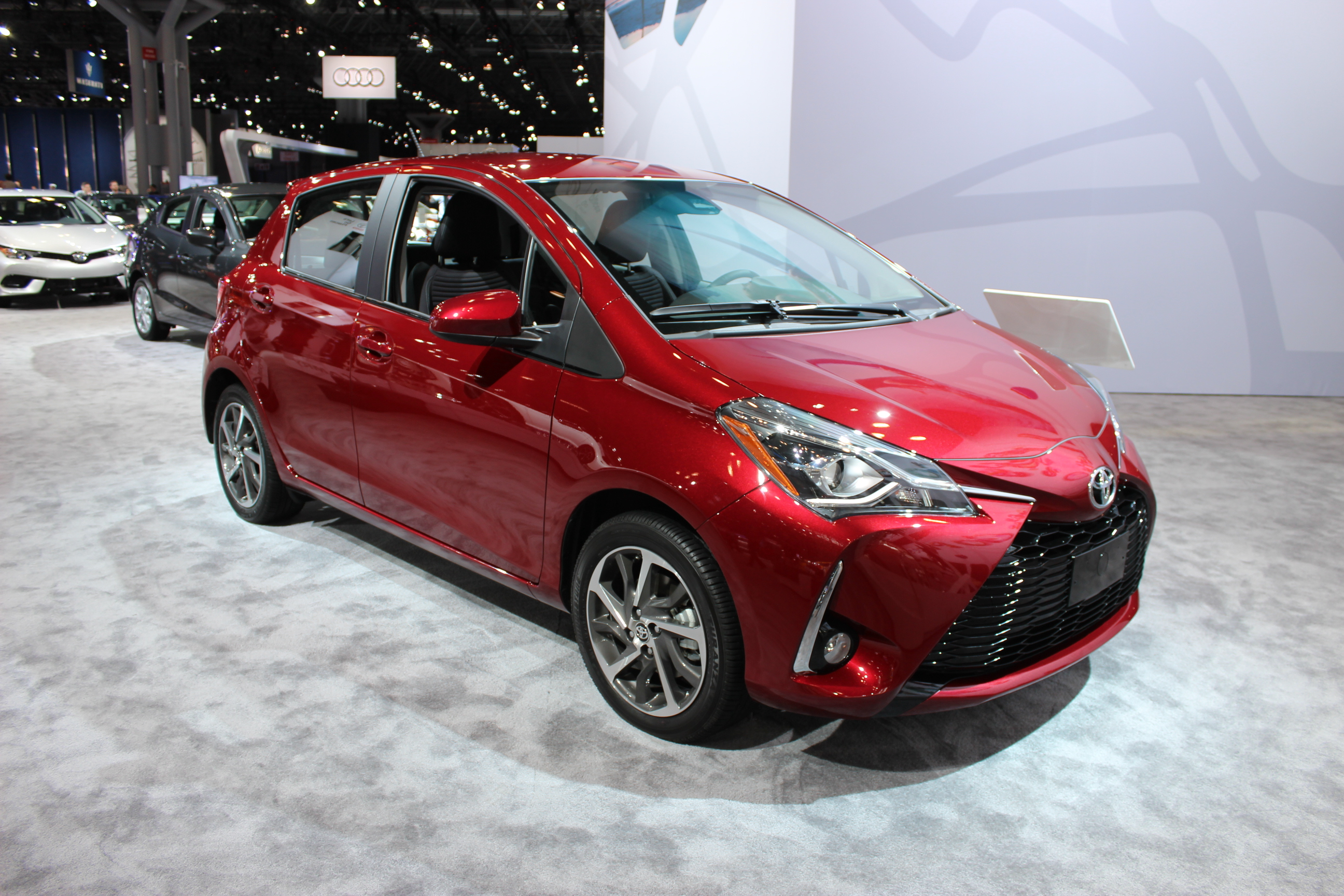 The 2018 Toyota Yaris Debuts In New York  Woman And Wheels
