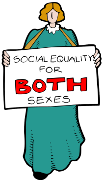 social equality for both sexes