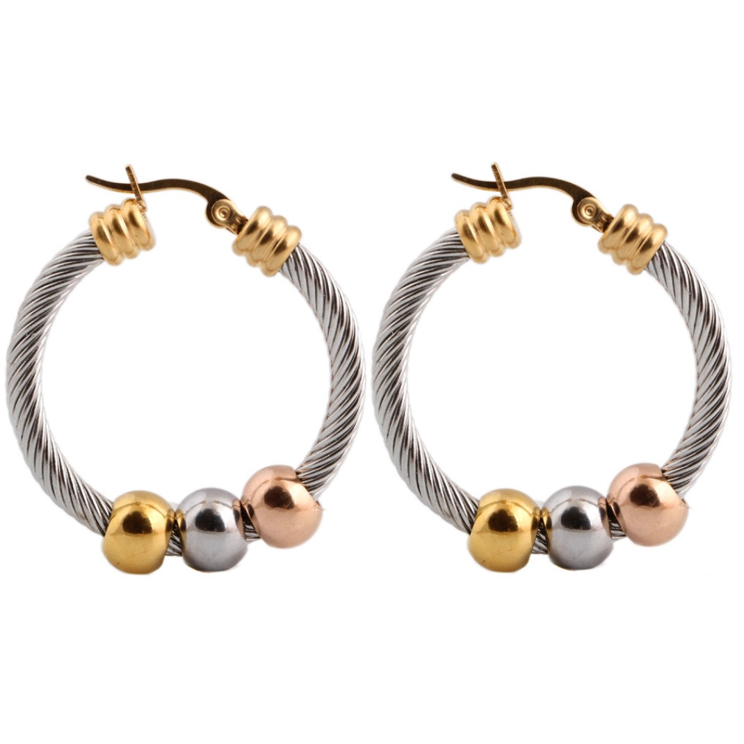 Recessionista\' Twisted Wire Earring WE-021 | Womandilax™ | Shop ...