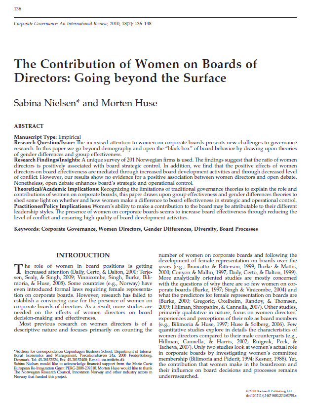 The-contribution-of-women-on-boards