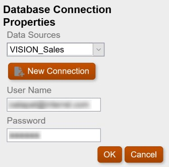 Choose Database Connection