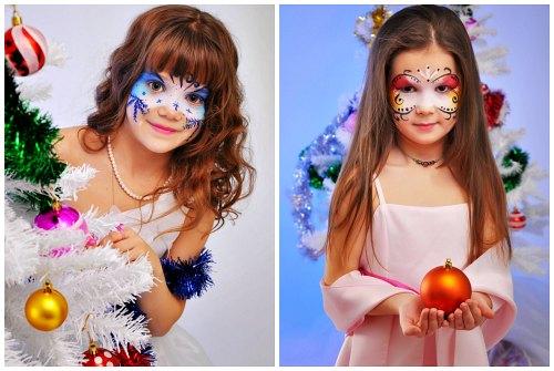 Kizlar Icin Noel Yuz Boyama Prenses In Gorunumunu Olusturma