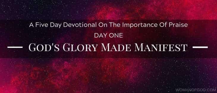 God's Glory Made Manifest Devotional -
