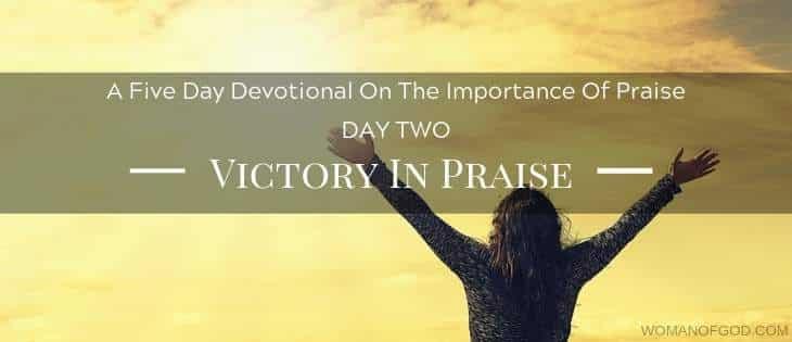 Victory In Praise devotional