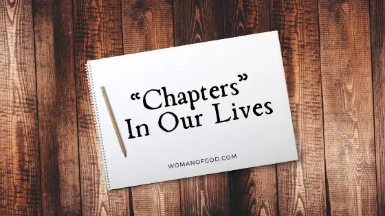 chapters in our lives -