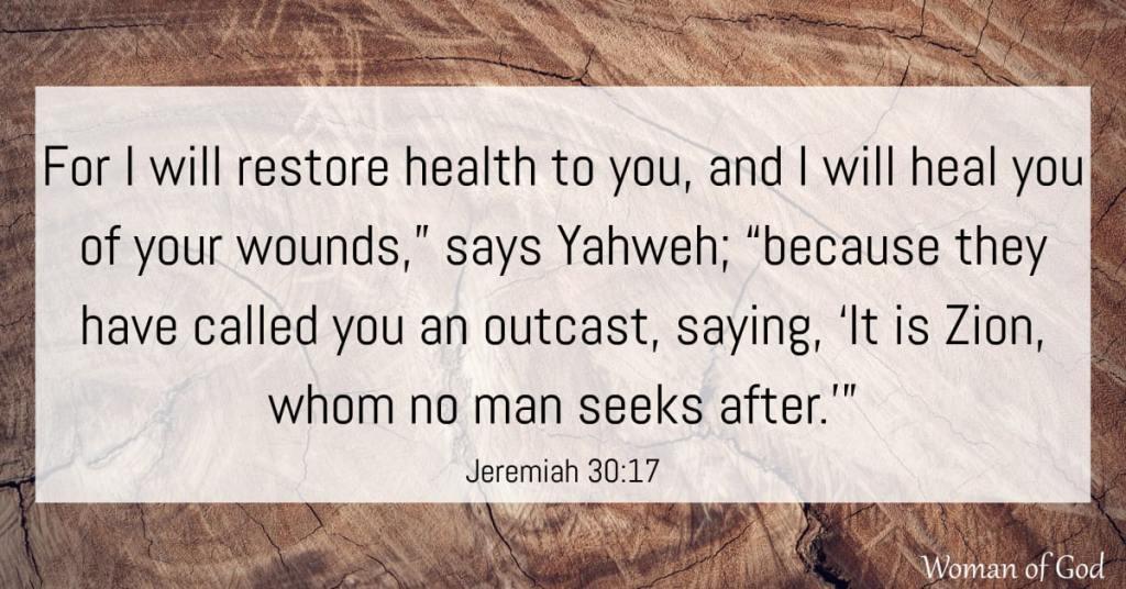Jeremiah 30:17 bible verse