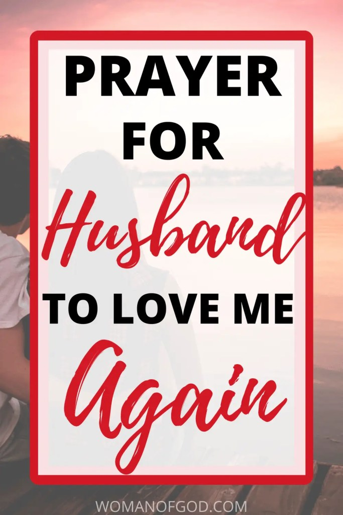 prayers for husband to love me again pin