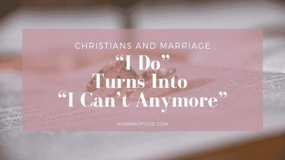 christian marriage and divorce