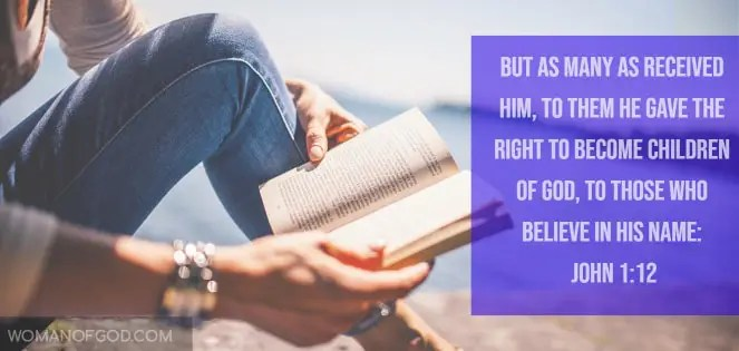 John 1:12 Bible Verse