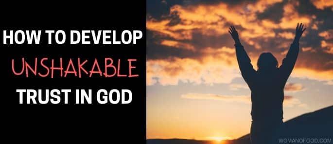 unshakable trust in god