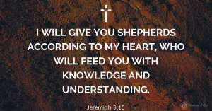 verse of the day Jeremiah 3:15