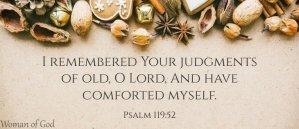 psalm 119 52 image