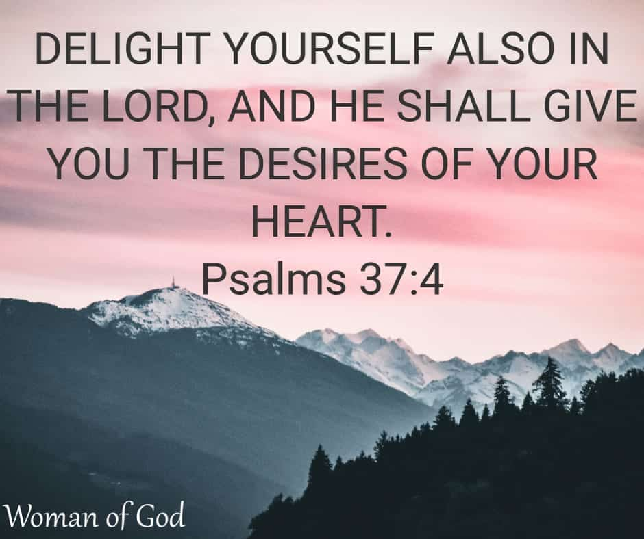 Psalms 37:4 Bible Verse