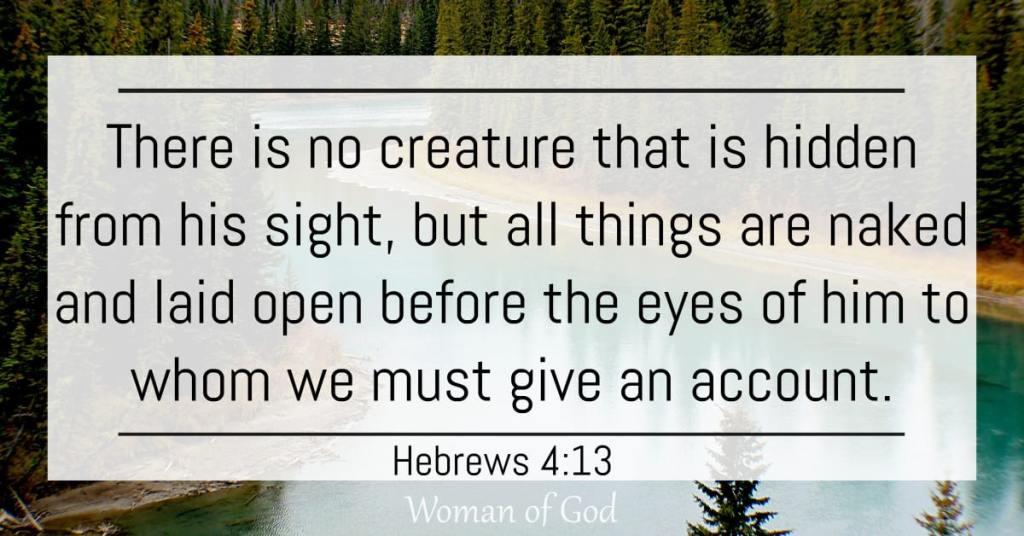 Hebrews 4:13 Bible Verse