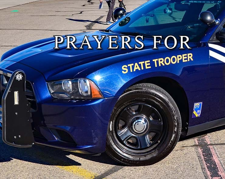 prayers for state troopers