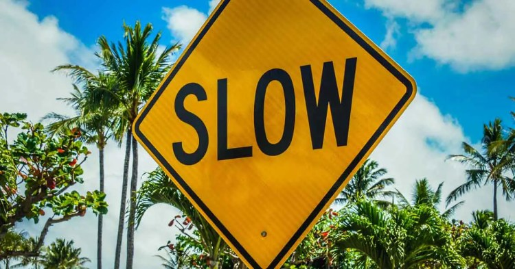 Christian Entrepreneur slow down