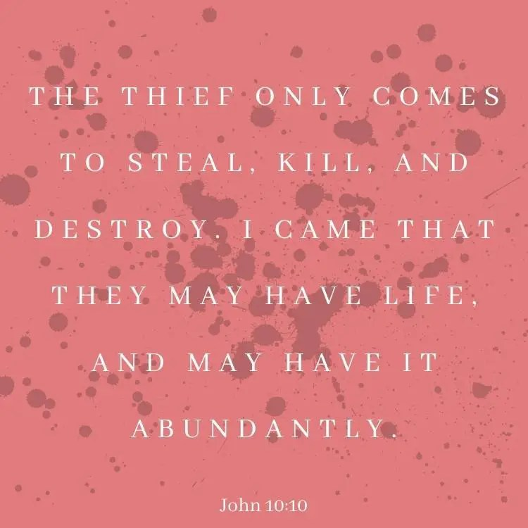 John 10:10 bible verse