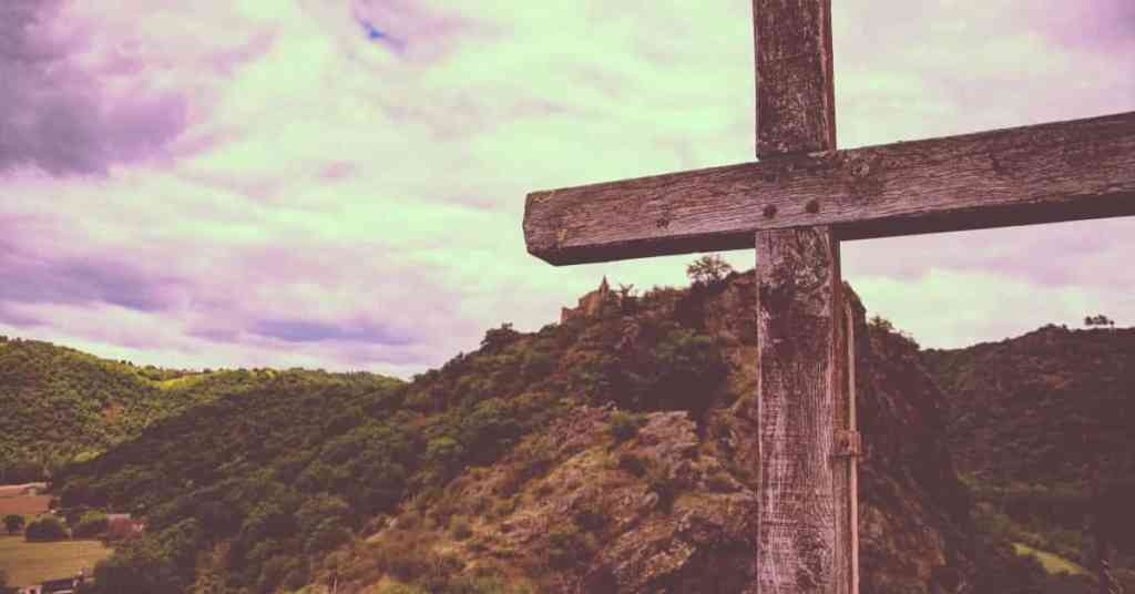 Bible Verses About Jesus Death On The Cross