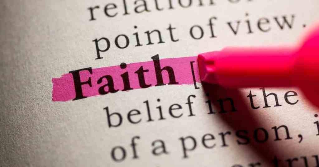 Verses About Faith