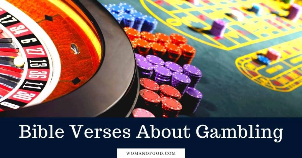 Bible Verses About gambling