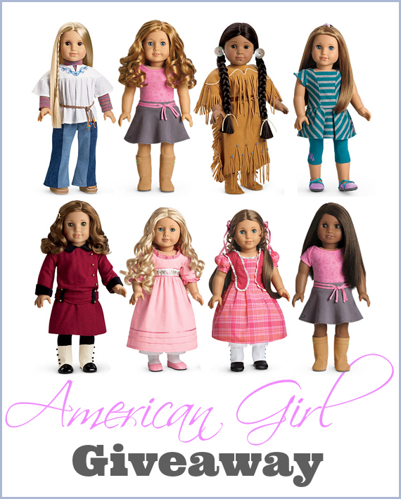 Which American Girl Doll Do I Have : which, american, American, Giveaway, Woman, Roles