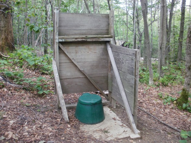 Privy at Sucker Brook Shelter