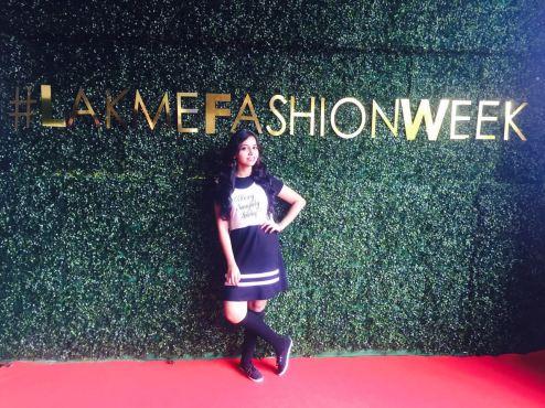 At Lakme Fashion Week 2016, Day 5