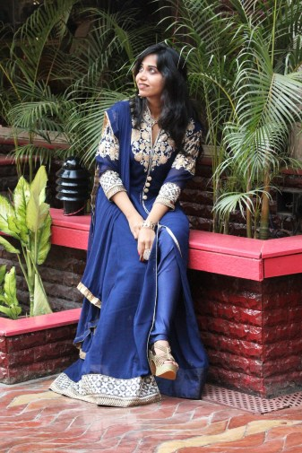 fashion blogger traditional wear