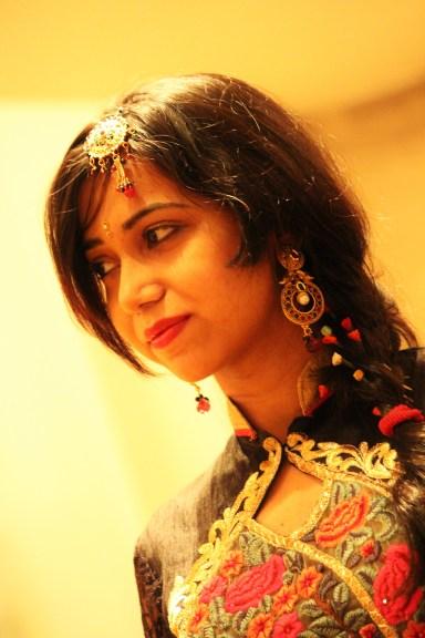 Traditional Accessories - Earrings, Head tikka, hair pins, bindi