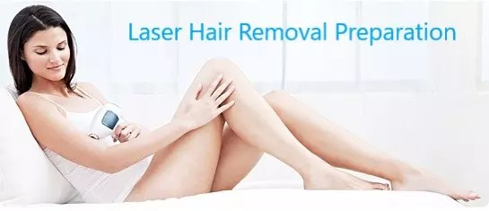 Laser Hair Removal PREPARATION