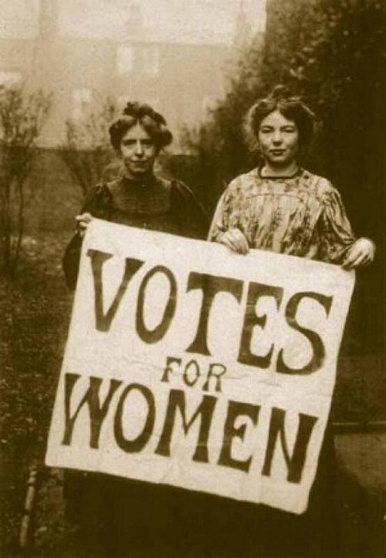 Борцы за женское избирательное право