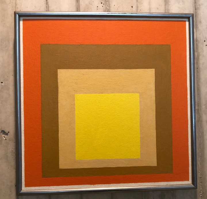 Josef Albers, Homage to the Square: Bright Hour