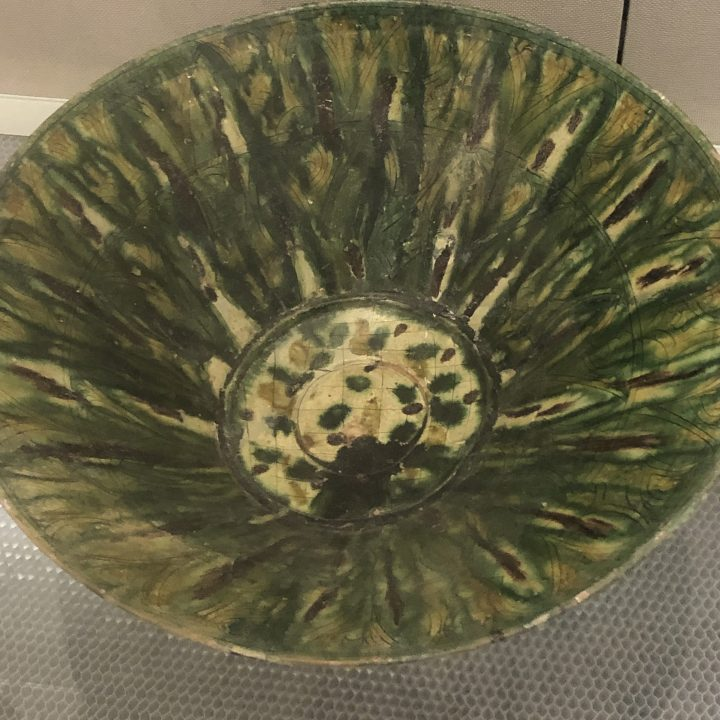 NIshapur ware bowl, 9th-10th century