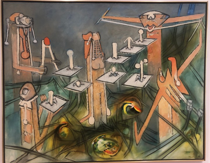 Roberto Matta, Oeufficiency