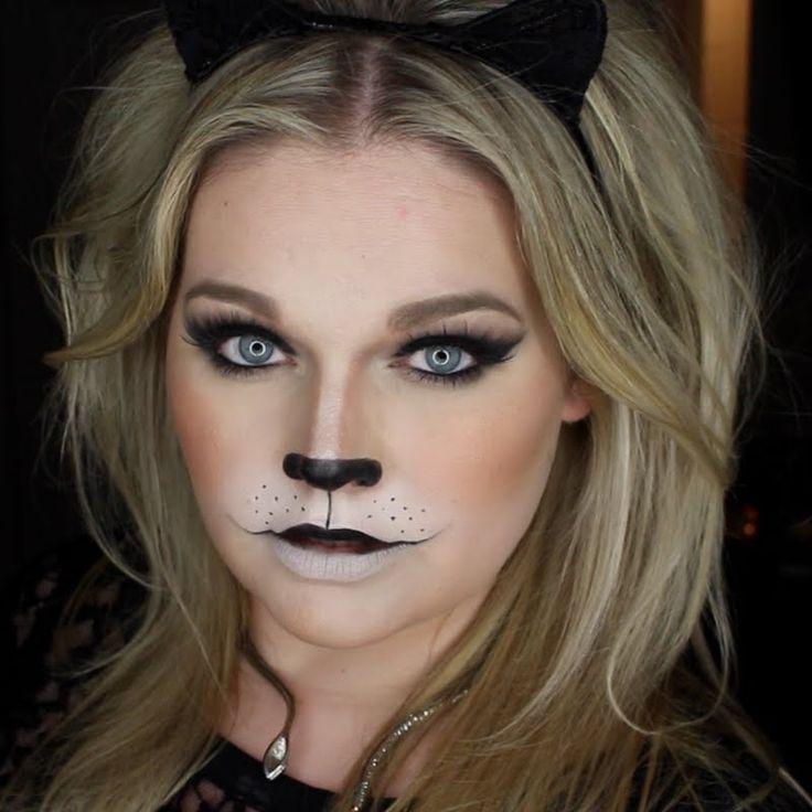 предпочитающим макияж для кошки картинки вот другой вид