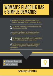new 5 demands flyer