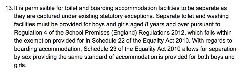PARA 13 SCHOOL TOILETS