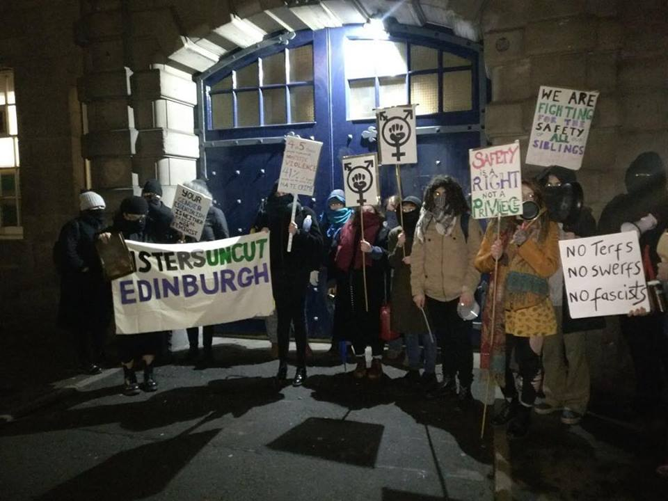 edinburgh protest