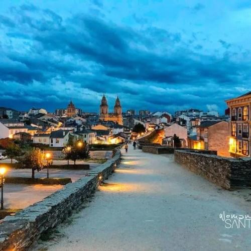 Camino Primitivo desde Lugo a Santiago