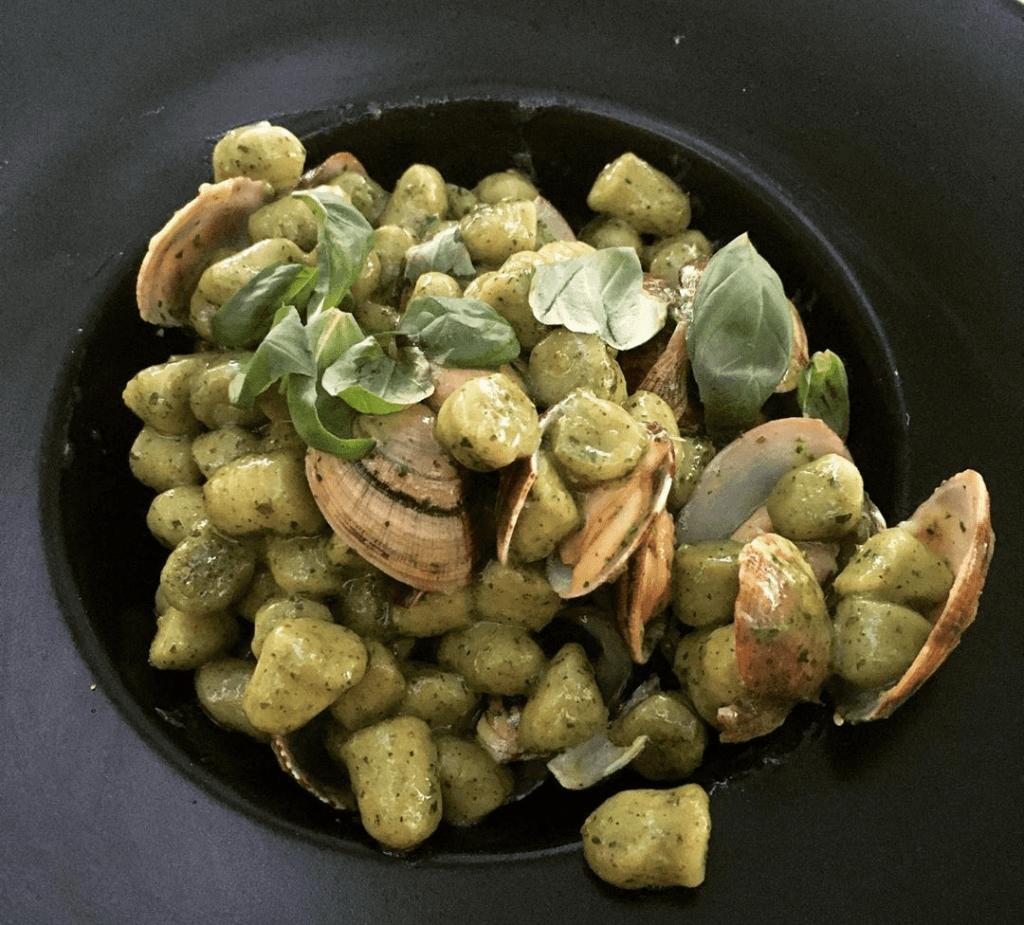 gnocchi alle zucchine e vongole