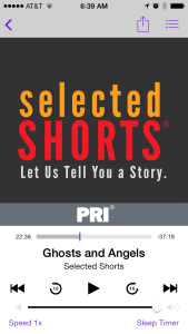 Ghosts and Angels - Selected Shorts