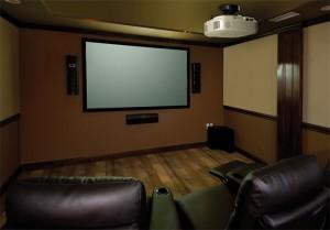 Projector installation projector people