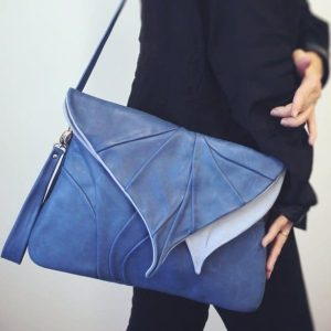Designer Shoulder Bags. Leaf Maxi 3 by Diana Ulanova. Buy on women-bags.com