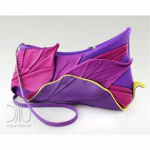 Luxury Clutch Bags. Tropic Purple by Diana Ulanova. Buy on women-bags.com
